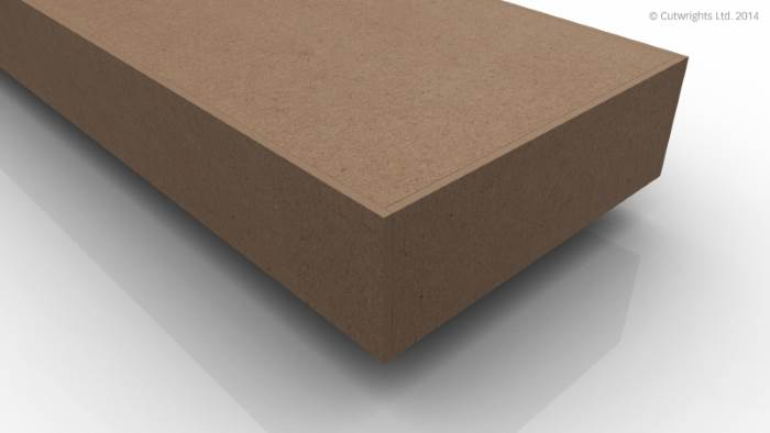 3.0mm Solid MDF Edging (Square)