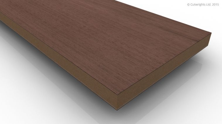 16mm Black Walnut CC/Black Walnut A/B VMDF
