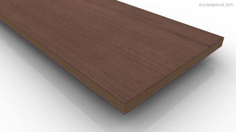 10mm Black Walnut CC/Black Walnut A/B VMDF