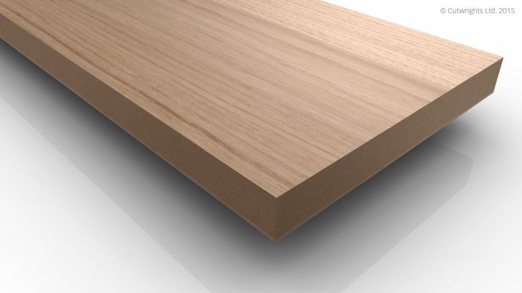 19mm Dartmoor White Oak QC/White A/B VMDF