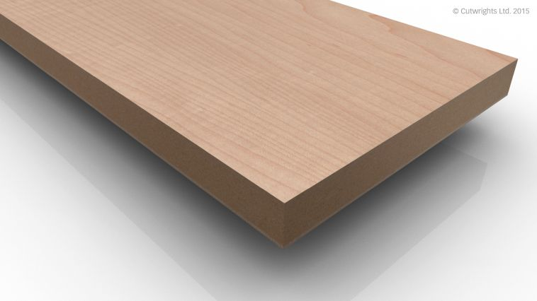 19mm Dartmoor Maple/Maple A/B VMDF ***DISCONTINUED***