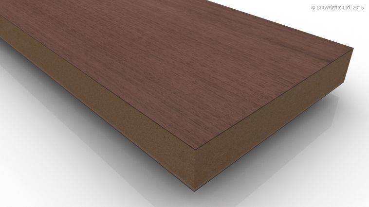 26mm Black Walnut CC/Black Walnut A/B VMDF