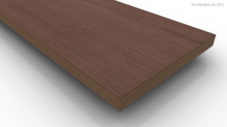 13mm Black Walnut CC/Black Walnut A/B VMDF