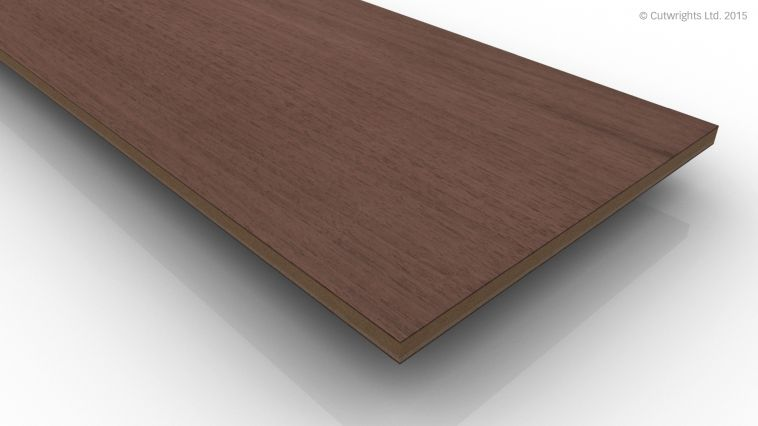 6mm Black Walnut CC/Black Walnut A/B VMDF