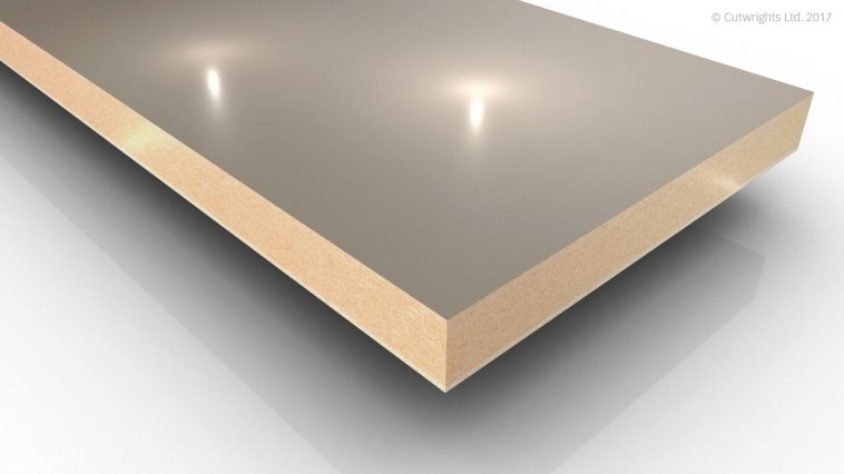 19mm Stone Grey U727 Perfect Sense GLOSS/ST2 Egger MFMDF