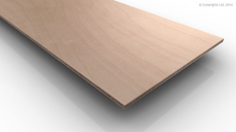 4mm Birch Plywood WBP BB
