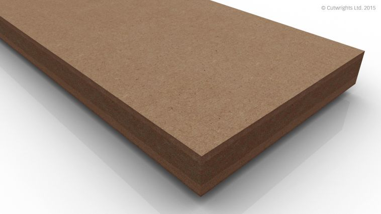 25mm Fire Resistant Medite MDF Class C
