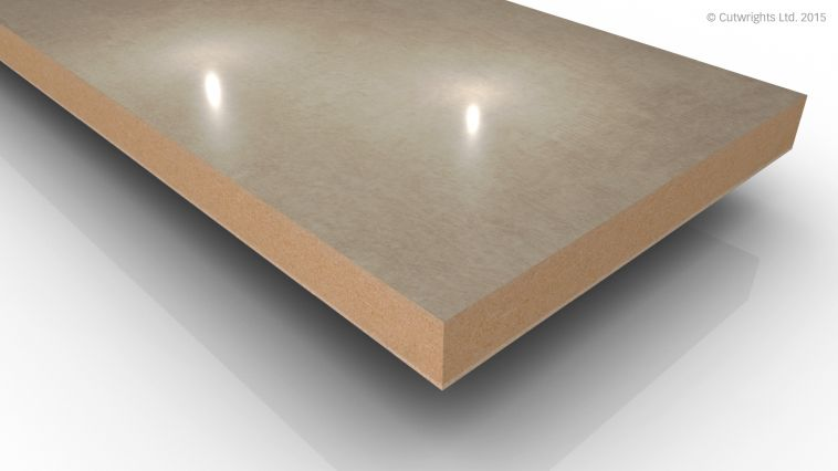 18mm Melange Cream 1 Mineral Gloss Alvic LUXE MFMDF