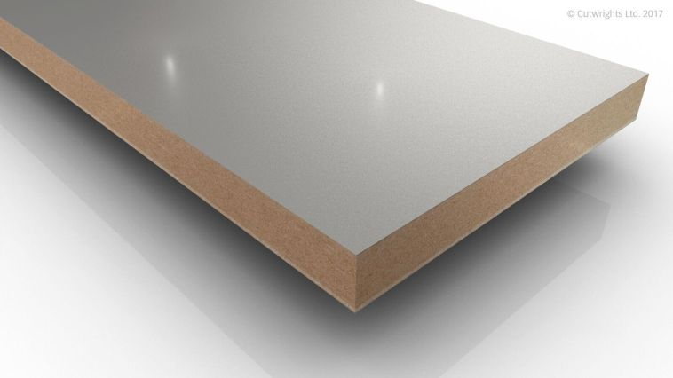 19mm Light Grey U708 Perfect Sense GLOSS/ST2 Egger MFMDF