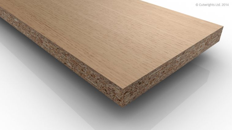 19.5mm Light Sorano Oak H1334 ST9 Egger Laminate MDF