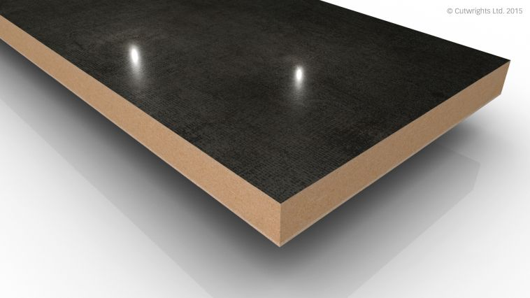 18mm Melange Slate 4 Mineral Gloss Alvic LUXE MFMDF