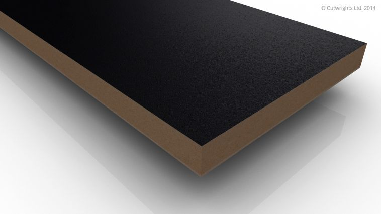 18mm Black U999 ST2 Egger MFMDF