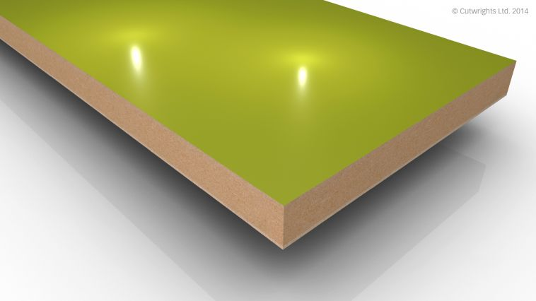 18mm Pistachio Gloss Alvic LUXE MFMDF