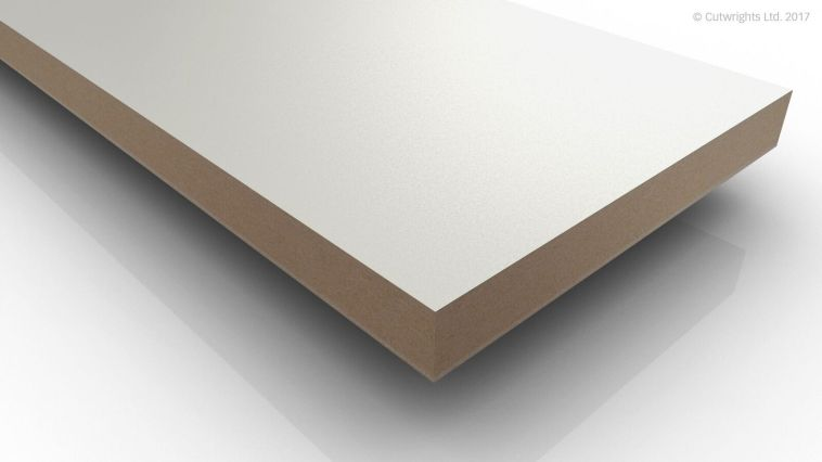 19mm Alpine White W1100 Perfect Sense MATT/ST2 Egger MFMDF