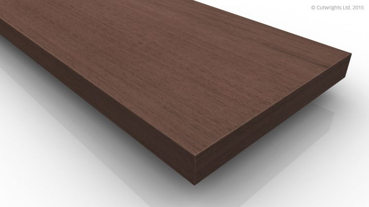 19mm Black Walnut Moisture Resistant CC A/B