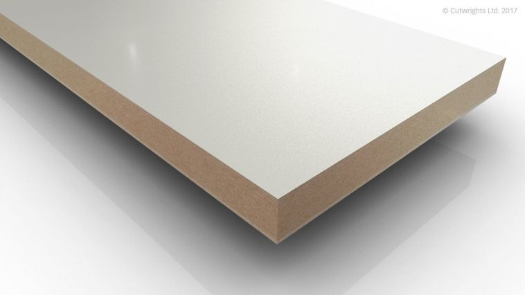 19mm Alpine White W1100 Perfect Sense GLOSS/ST2 Eggr MFMDF
