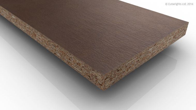 18mm Brown Leather F428 ST10 Egger MFC