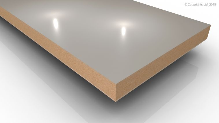 18mm Cashmere Gloss Alvic LUXE MFMDF