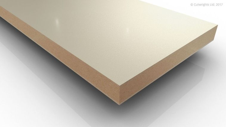 19mm Alabaster White U104 Perfect Sense GLOSS/ST2 Eg MFMDF