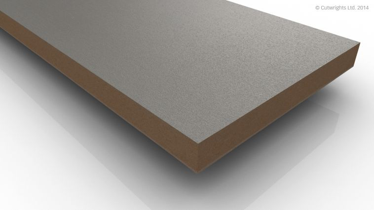 18mm Brushed Aluminium F501 ST2 Egger MFMDF