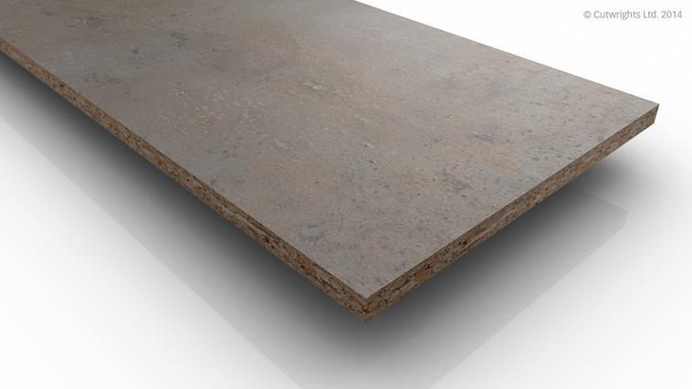 8mm Light Concrete F274 ST9 Egger 1 Sided MFC