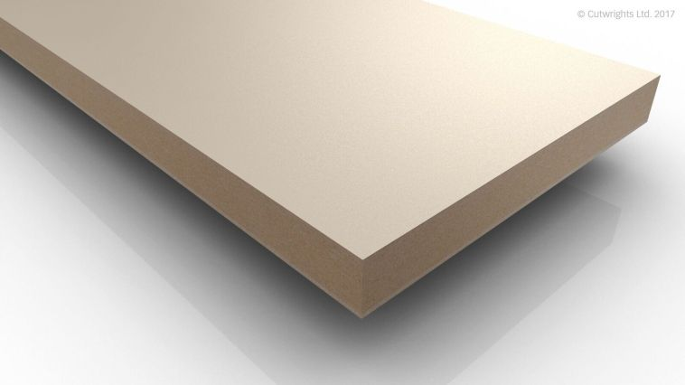 19mm Crema Beige U222 Perfect Sense MATT/ST2 Egger MFMDF